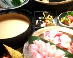但馬鶏水炊き鍋~白濁スープ~コース